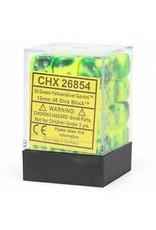 Chessex d6Cube12mmGemini#6 GRYEsv (36)