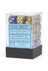 Chessex d6Cube12mmGemini BUGDwh (36)