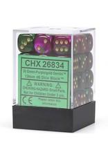 Chessex d6Cube12mmGemini#3 GRPUgd (36)