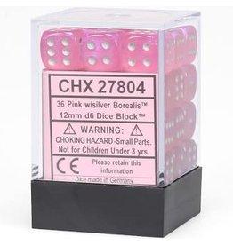 Chessex d6Cube12mmBOR#2 PKsv (36)