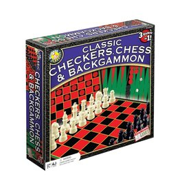 Endless Games Chess/Checkers/Backgammon