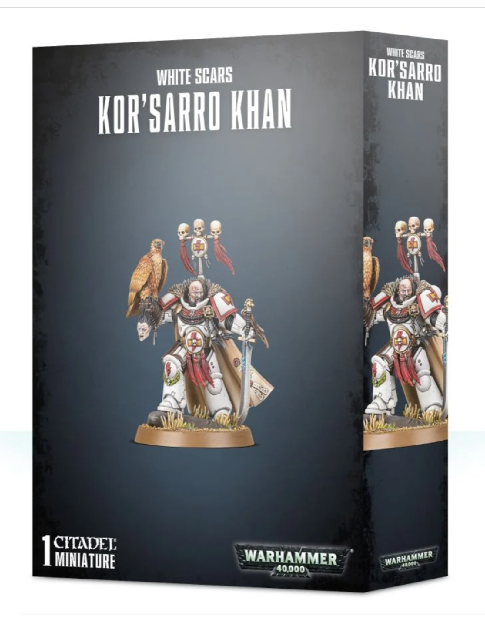 Warhammer 40K Space Marine White Scars Kor'Sarro Khan