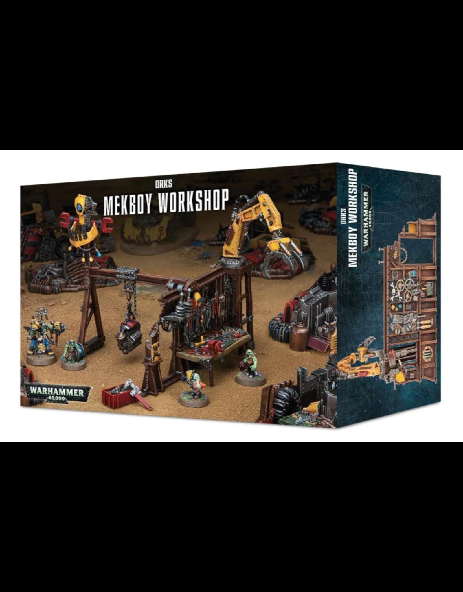 Warhammer 40K Ork Mek Workshop
