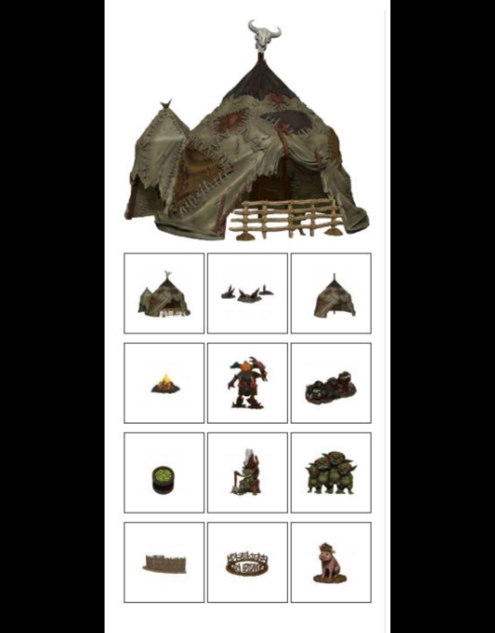 Wiz Kids Pathfinder Battles: Legendary Adventures Goblin Village Premium Set