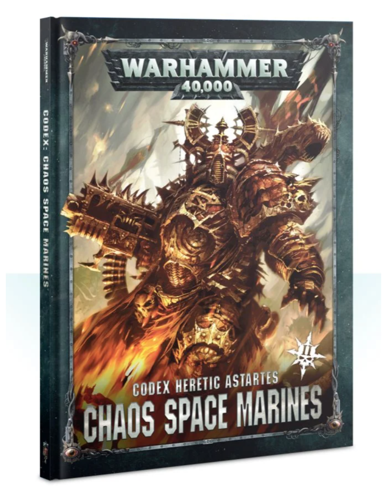 Warhammer 40K Chaos Space Marines 2 Codex