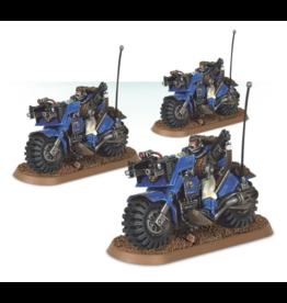 Warhammer 40K Space Marine Bike Squad