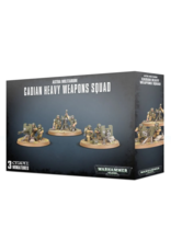 Warhammer 40K Astra Militarum Cadian Heavy Weapons Squad (3)