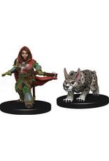 Wiz Kids Wardlings: Girl Ranger & Lynx
