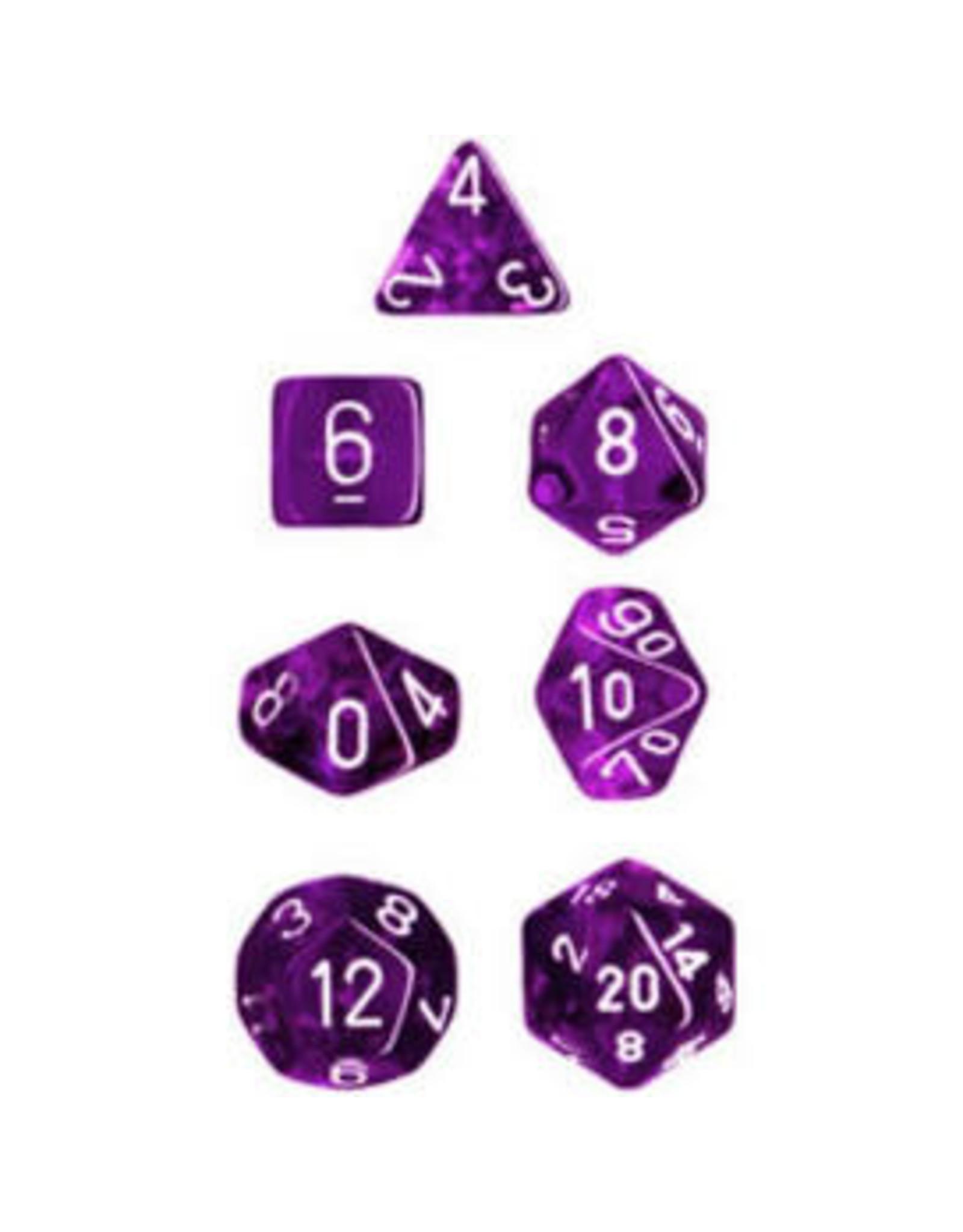 Chessex 7-Set Polyhedral CubeTR PUwh