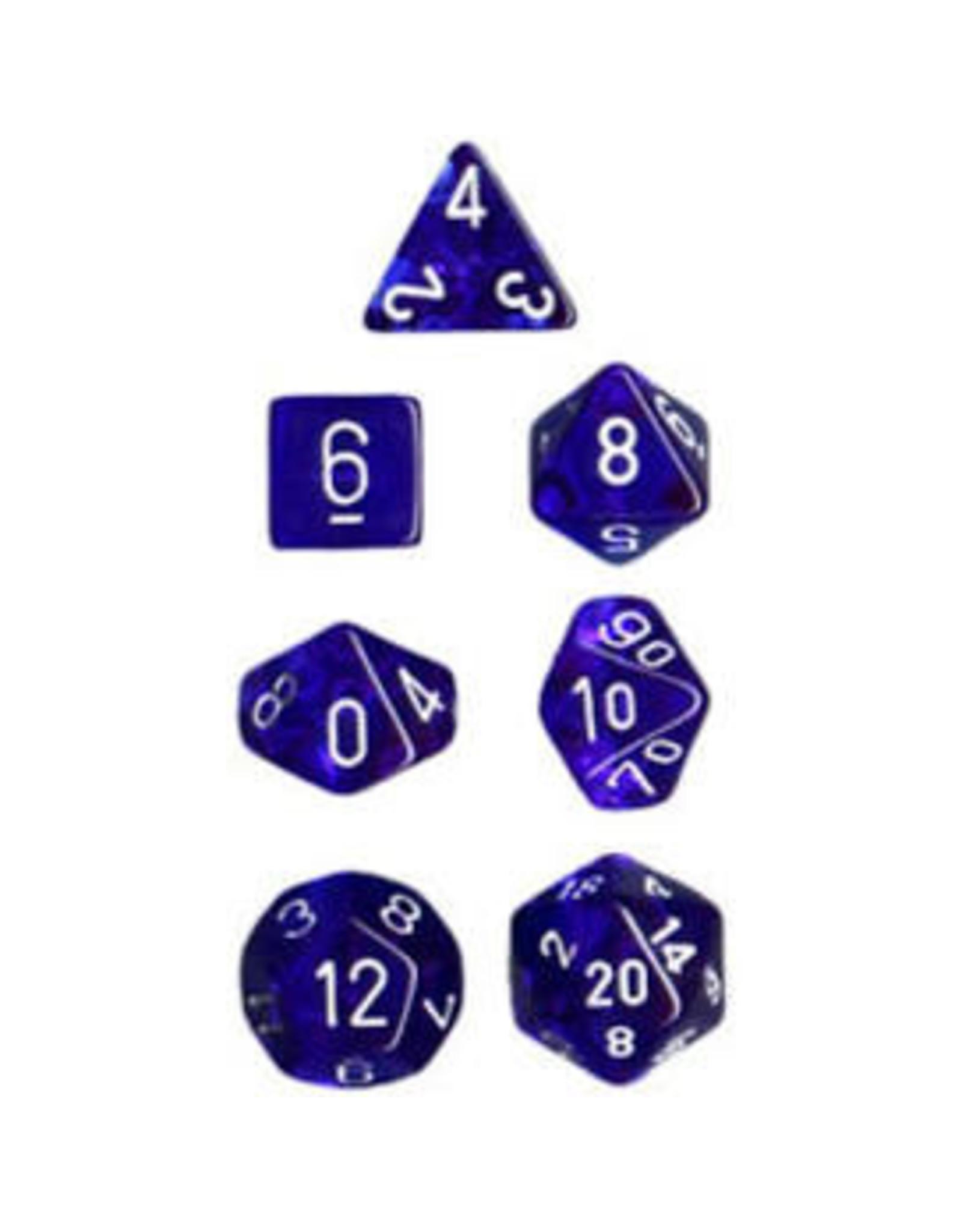 Chessex 7-Set Polyhedral CubeTR BUwh