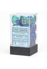 Chessex d6Cube16mmGemini#7 BUTLgd (12)