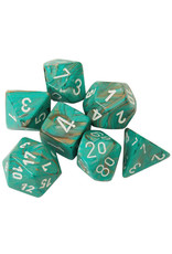 Chessex 7-Set Polyhedral Cube MBL Oxi-CPwh