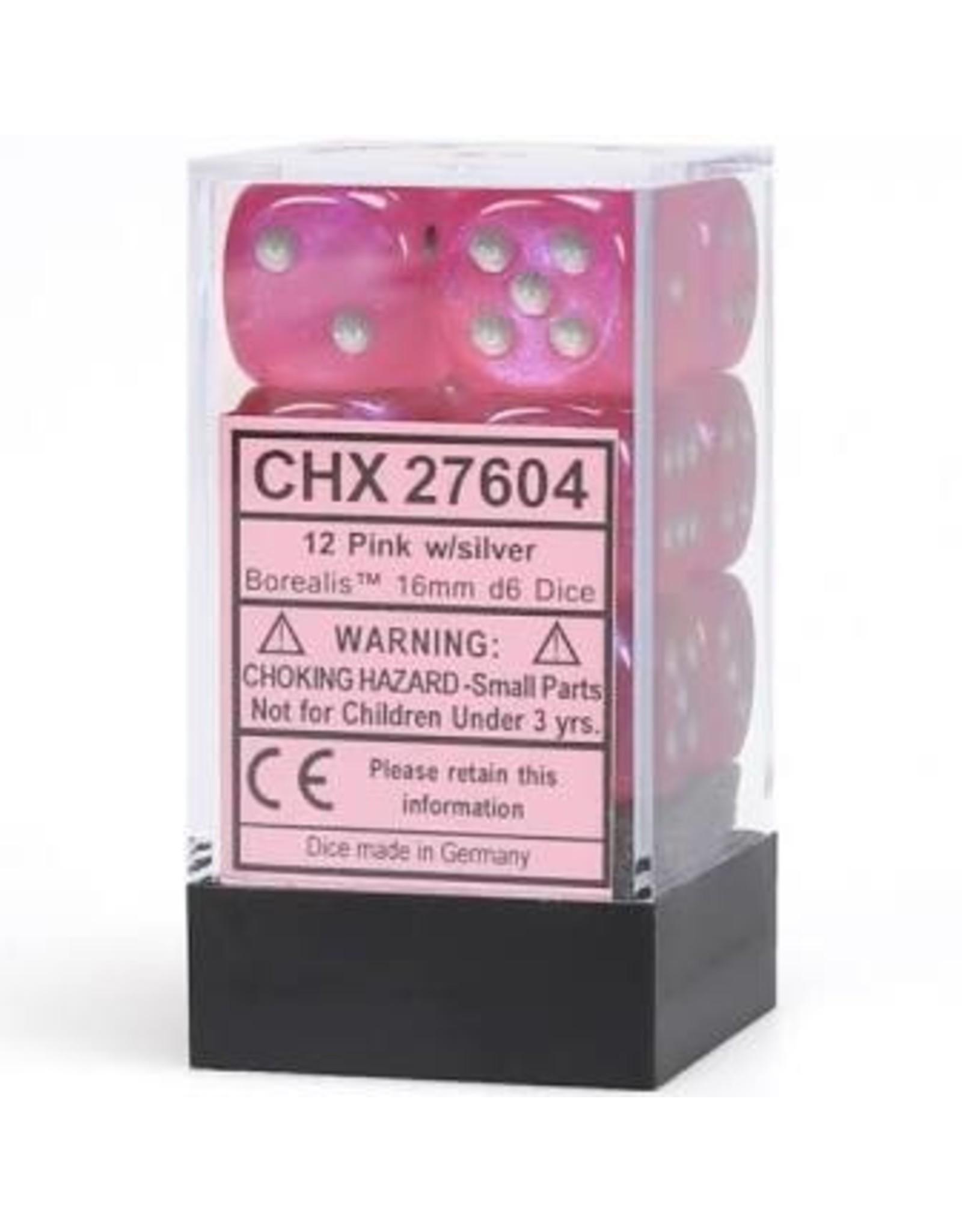 Chessex d6Cube16mmBOR#2 PKsv (12)