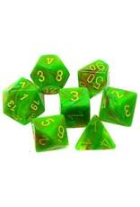 Chessex 7-Set Polyhedral Cube Vortex Slime/ye