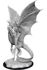 Wiz Kids D&D NMU: W11 Young Silver Dragon