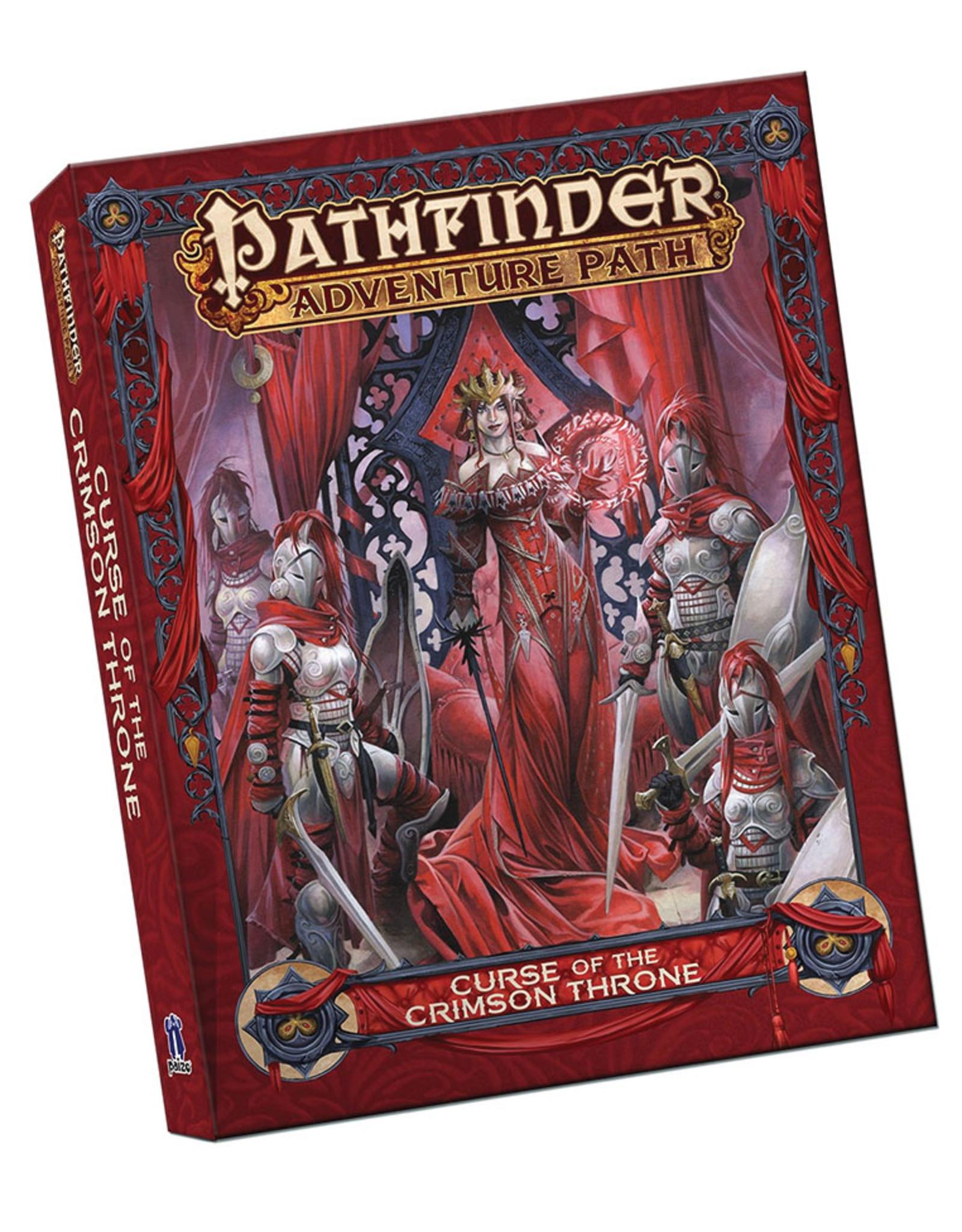 Paizo Publishing Pathfinder Adventure Path: Curse of the Crimson Throne Pocket Edition