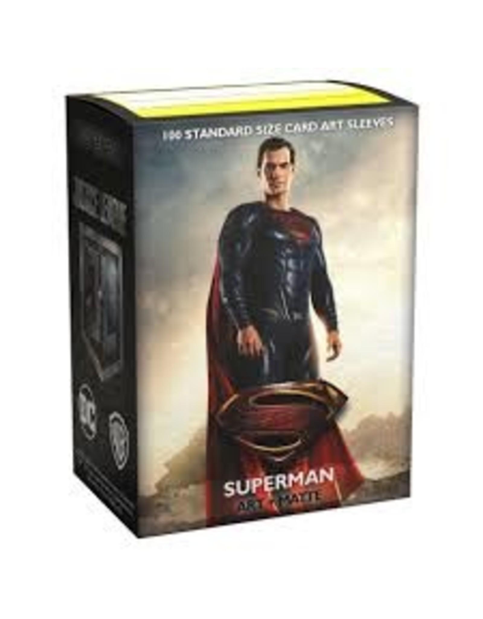 Art: Matte JL: Superman (100)