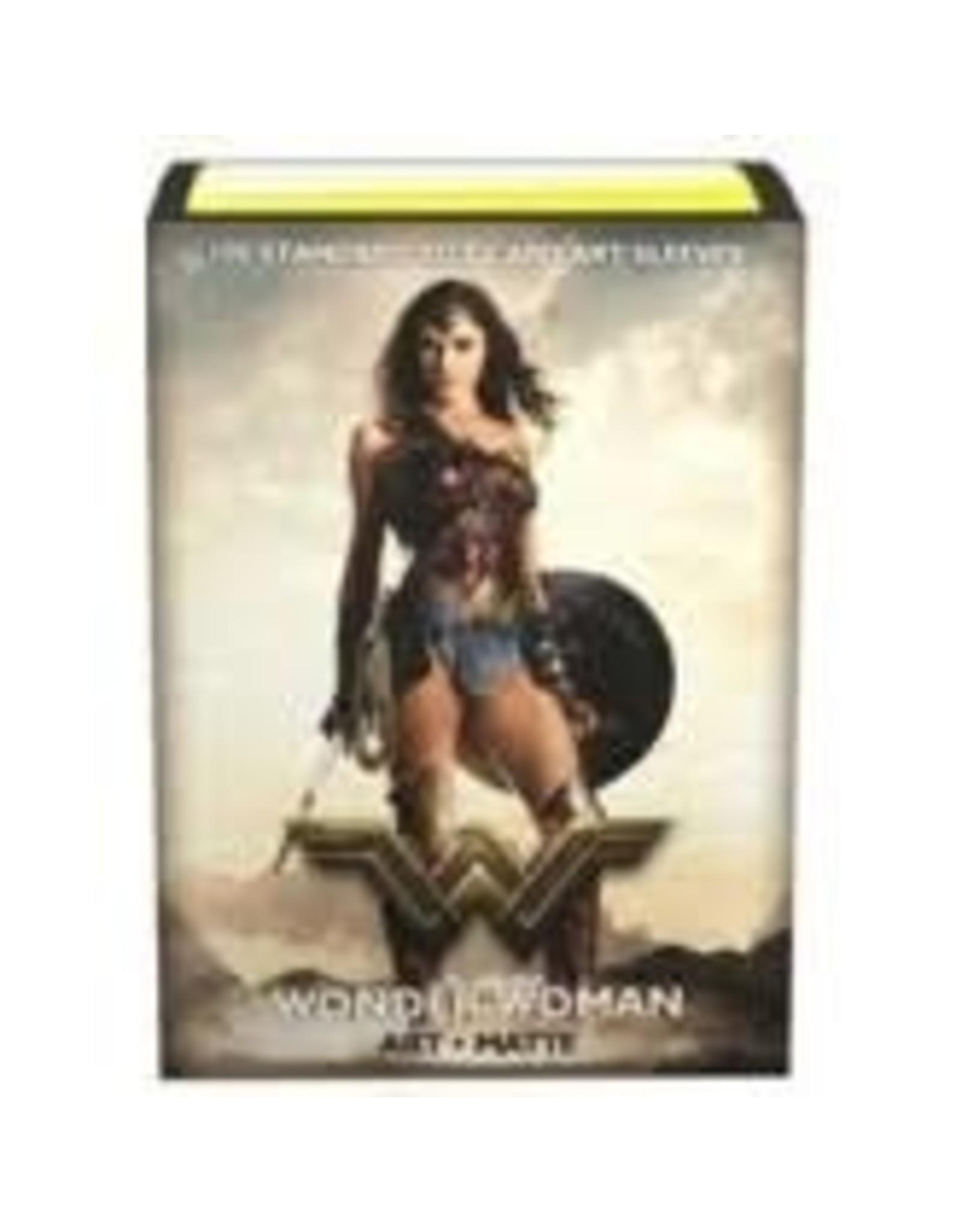Art: Matte JL: Wonder Woman (100)