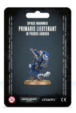 Warhammer 40K Space Marine Primaris Lietentant in Phobos Armour