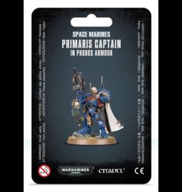 Warhammer 40K Space Marine Primaris Captain In Phobos Armour