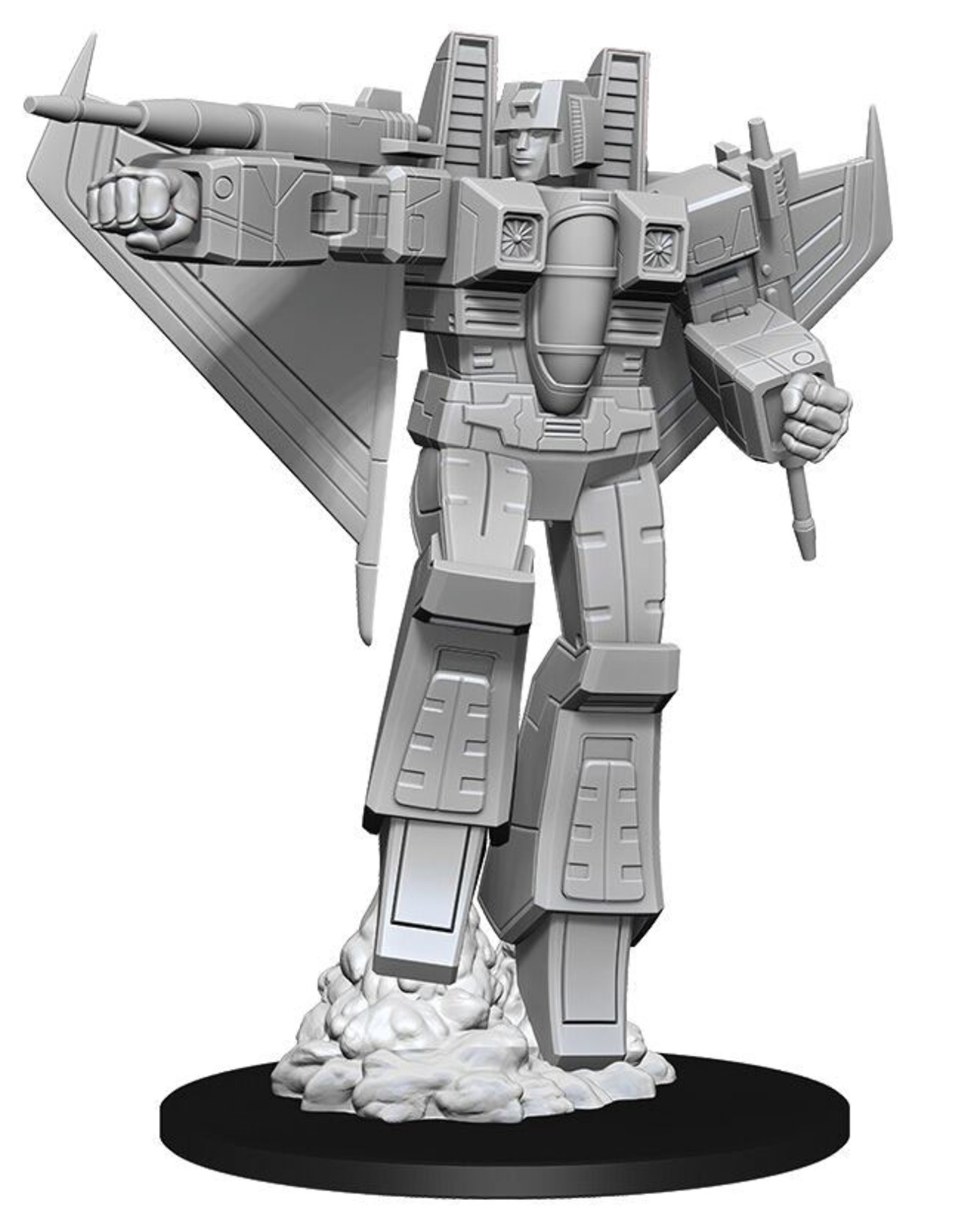 Wiz Kids Transformers Deep Cuts Unpainted Miniatures: Starscream
