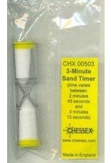 Chessex 3 Minute Sand Timer