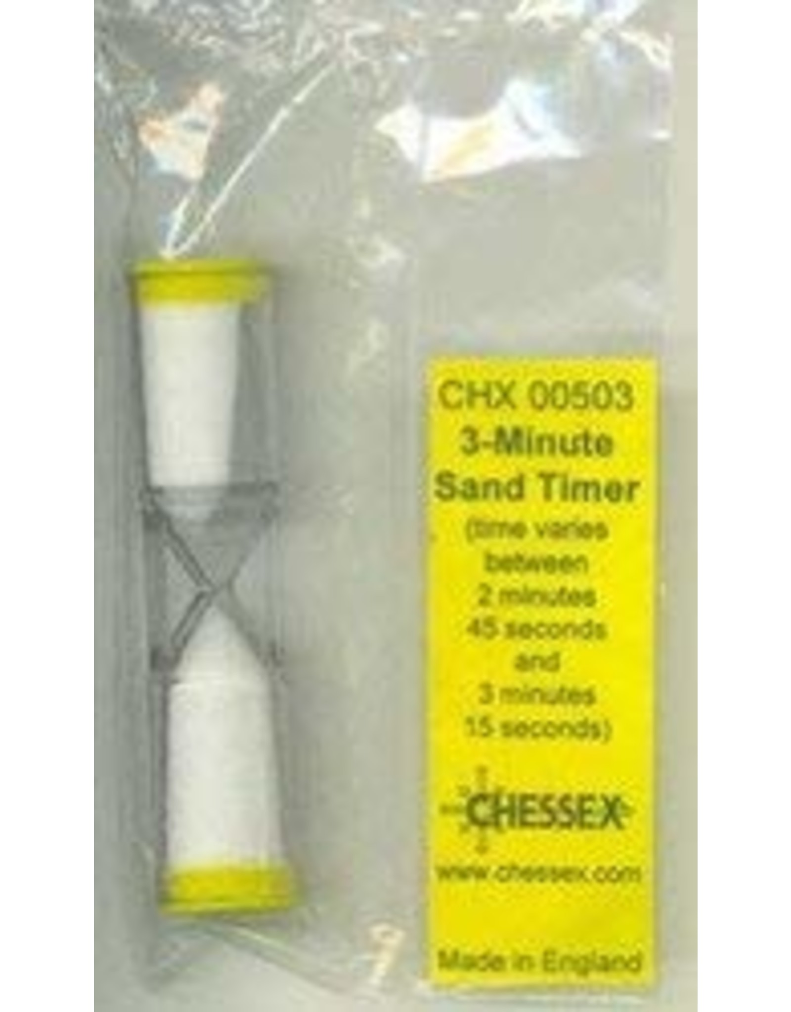 Dice 3 Minute Sand Timer