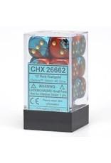 Chessex d6Cube16mmGemini#7 RDTLgd (12)