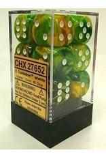 Chessex Dm7 Vortex 16mm D6 Dandelion/w