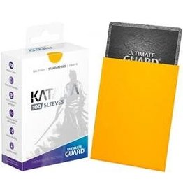 Ultimate Guard Katana Sleeve Yellow 100ct