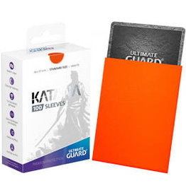 Ultimate Guard Katana Sleeve Orange 100ct