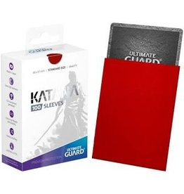 Ultimate Guard Katana Sleeve Red 100ct