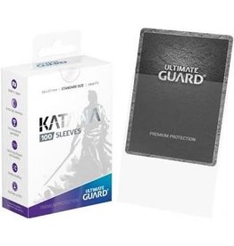 Ultimate Guard Katana Sleeve Clear 100ct
