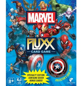 Looney Labs Marvel Fluxx Specialty Edition