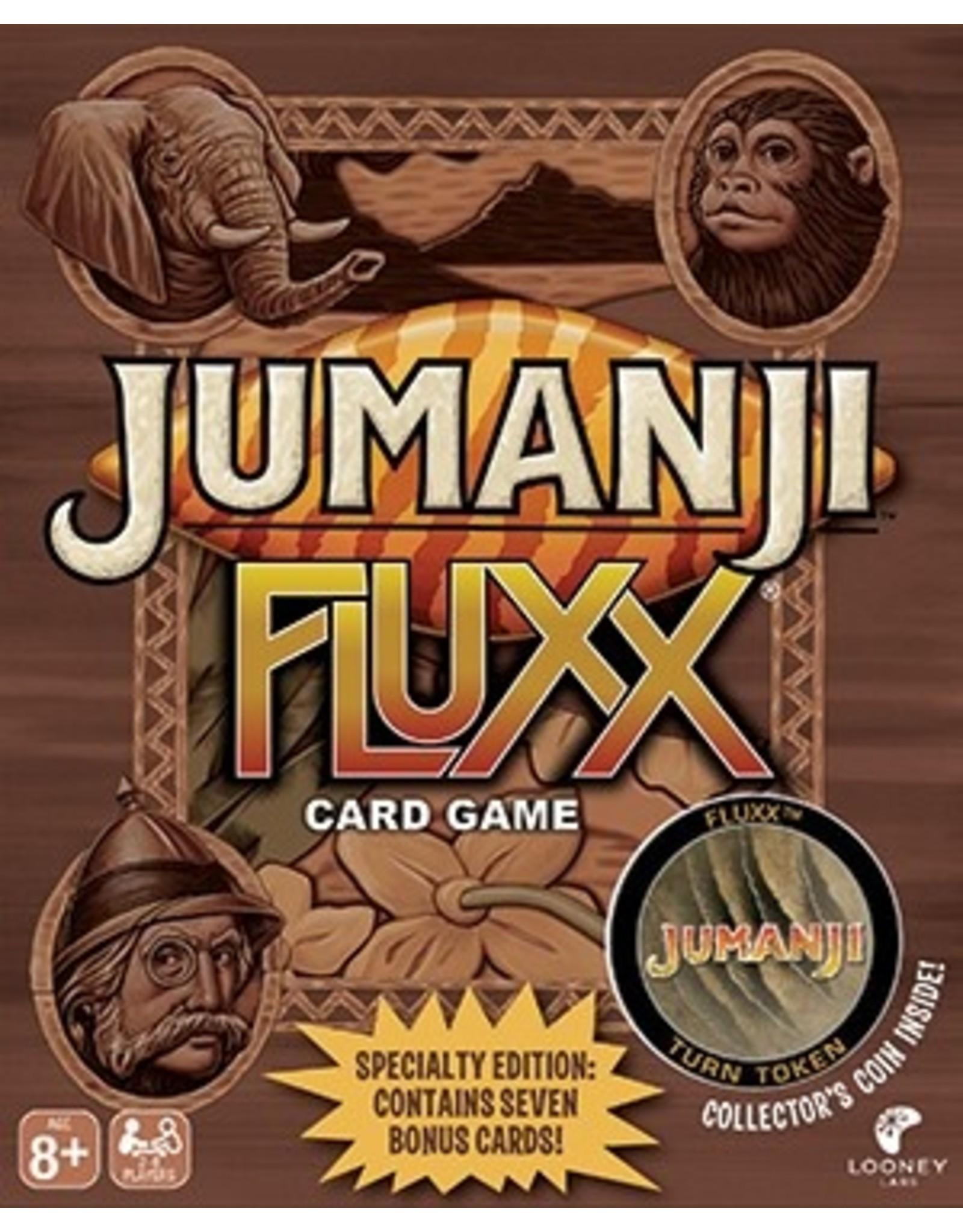 Looney Labs Jumanji Fluxx Specialty Edition