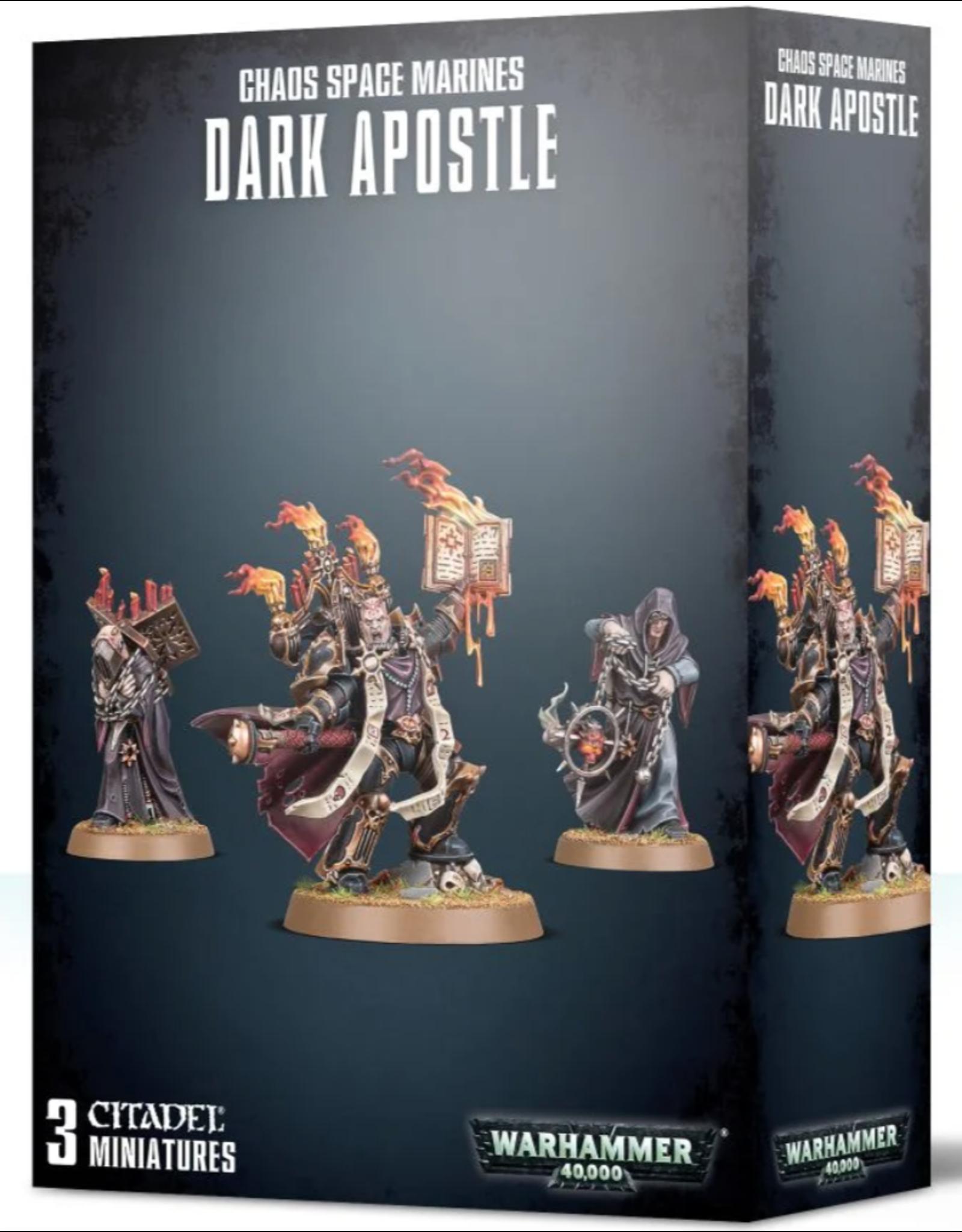 Warhammer 40K Chaos Space Marines Dark Apostle