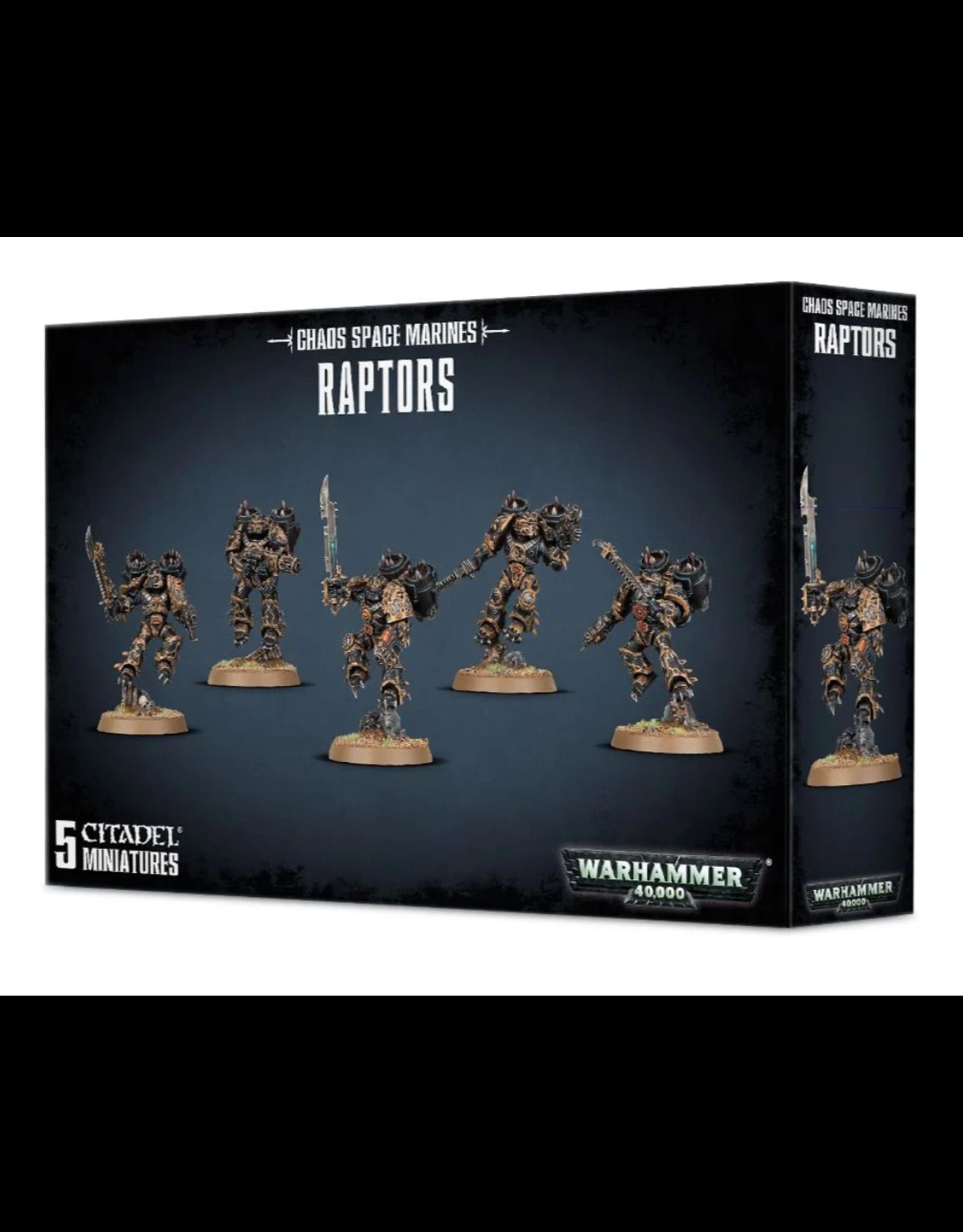 Warhammer 40K Chaos Marines Raptors/Warp