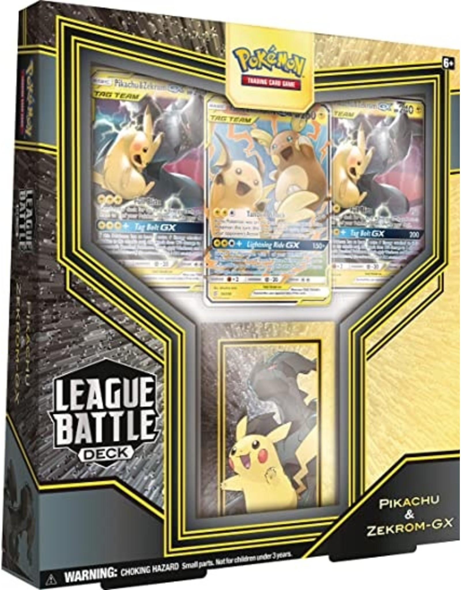 Pokemon: League Battle Deck Pikachu & Zekrom-GX