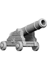 Wiz Kids Deep Cuts Unpainted Miniatures: W9 Cannons