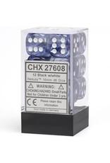 Chessex Nebula Black/White D6