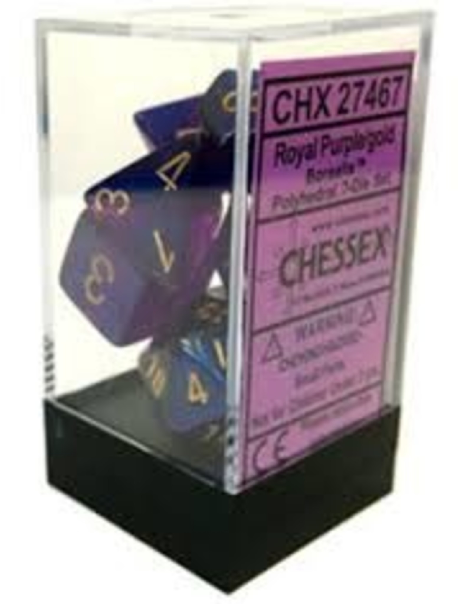 Chessex 7-Set Polyhedral CubeBOR#2 RYLPUgd