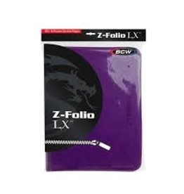 BCD Binder: Zipper Folio 9pkt: LX PU