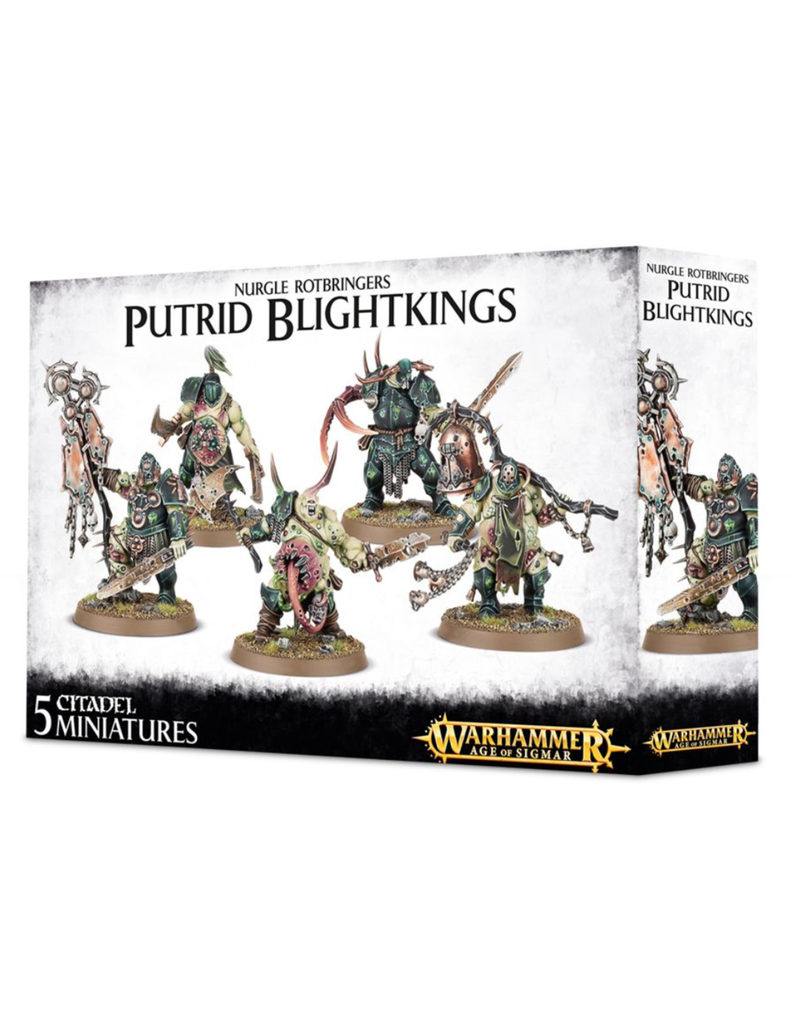 Age of Sigmar Putrid Blightkings
