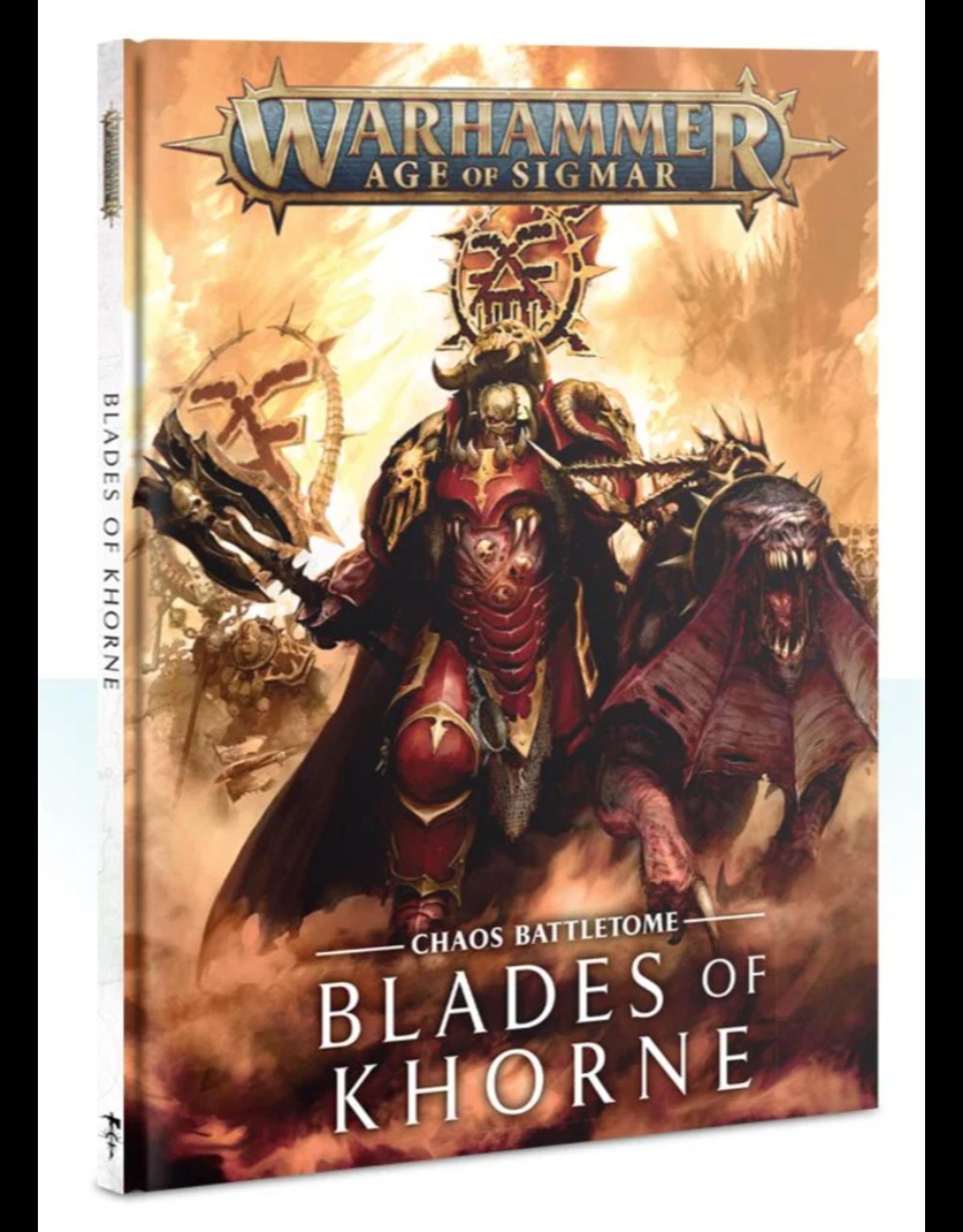 Age of Sigmar Chaos Battletome - Blades of Khorne