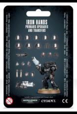 Warhammer 40K Space Marine Iron Hands Primaris Upgrades