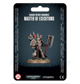 Warhammer 40K Chaos Space Marines Master of Executions