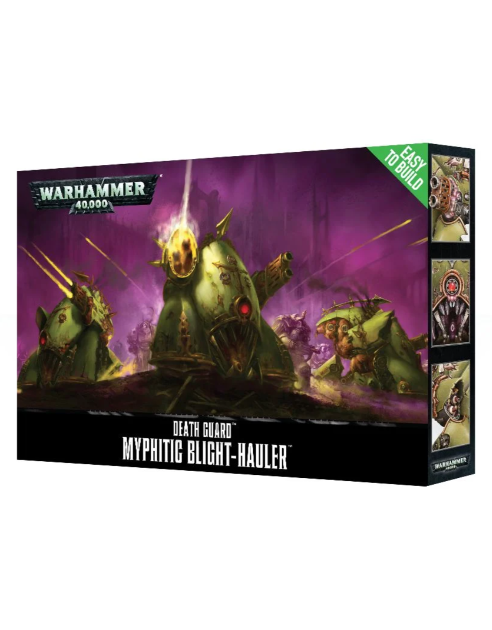 Warhammer 40K Chaos Easy to Build Death Guard Myphitic Blight-Hauler