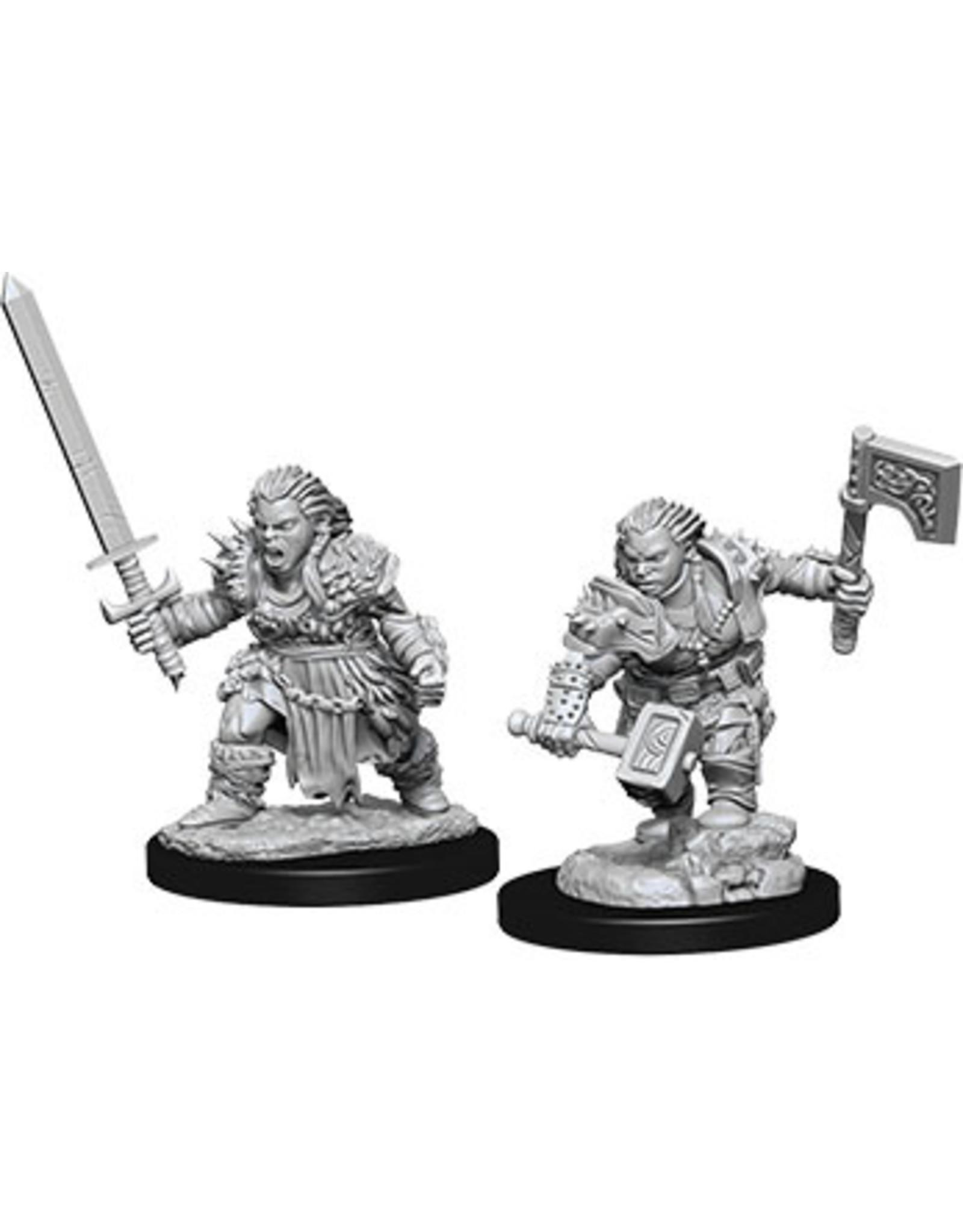 Wiz Kids Pathfinder DUM: W8 Dwarf Female Barbarian