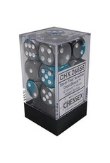 Chessex d6Cube16mmGemini#6 STTLwh (12)
