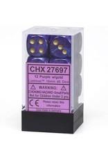 Chessex 16mm d6 Lustrous Purple/Gold